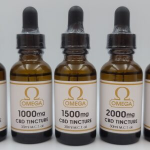 Omega CBD Tincture - London Weed Delivery